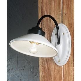 Ferroluce Asti C060 AP Lampada Parete Rustica in Ceramica