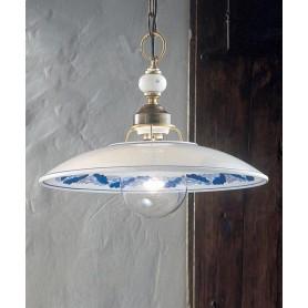 Ferroluce Torino C162 SO Lampadario Rustico Ceramica