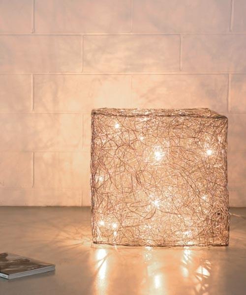 Knikerboker Qubo T55 Lampada da Terra LED