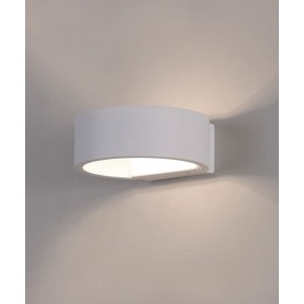 ACB Luna 16/3307 Lampada a LED da Parete Bianca