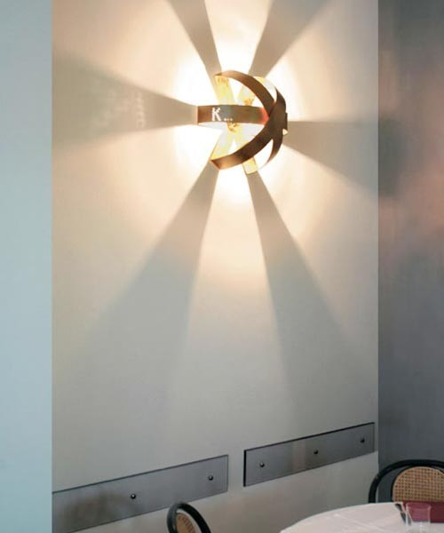 Knikerboker Ecliptika P40 Lampada da Parete/Soffitto 10 Colori