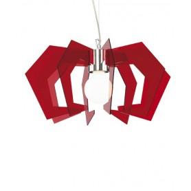 Artempo Mini Spider Lampada Moderna in finitura Rosso