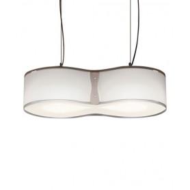 Artempo Blob 103TO Trasparente Lampada Sospensione 2 Luci R.E