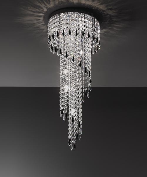 ANTEALUCE Astrid 5751.75 Lampada Soffitto Cristallo 5 Colori