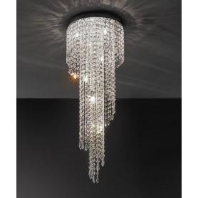 ANTEALUCE Astrid 5751.90 Lampada Soffitto Cristallo 5 Colori
