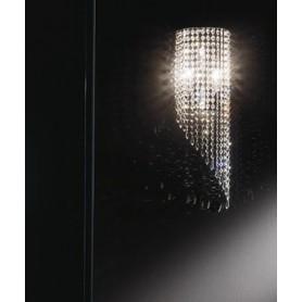 ANTEALUCE Astrid 5754.20 Lampada Parete Cristallo