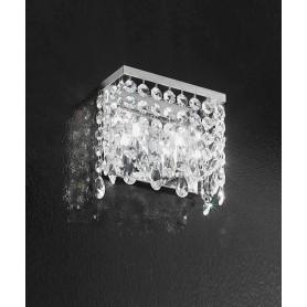 ANTEALUCE Fair 5994.20 Lampada Parete Cristallo