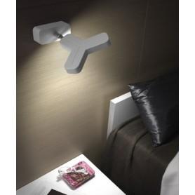 Micron New Mox M2038 Lampada Parete/Soffitto 2 Colori LED