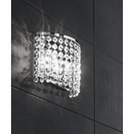 ANTEALUCE Key 5744.20 Lampada Parete Cristallo