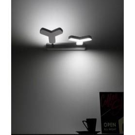 Micron New Mox M5553 Lampada Parete/Soffitto 2 Colori LED