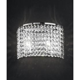 ANTEALUCE Key 5744.30 Lampada Parete Cristallo
