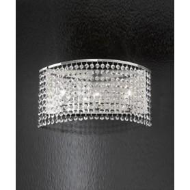 ANTEALUCE Key 5744.45 Lampada Parete Cristallo