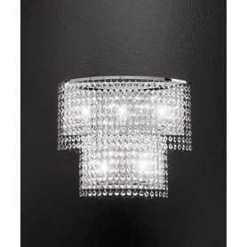 ANTEALUCE Key 5744.45.2 Lampada Parete Cristallo