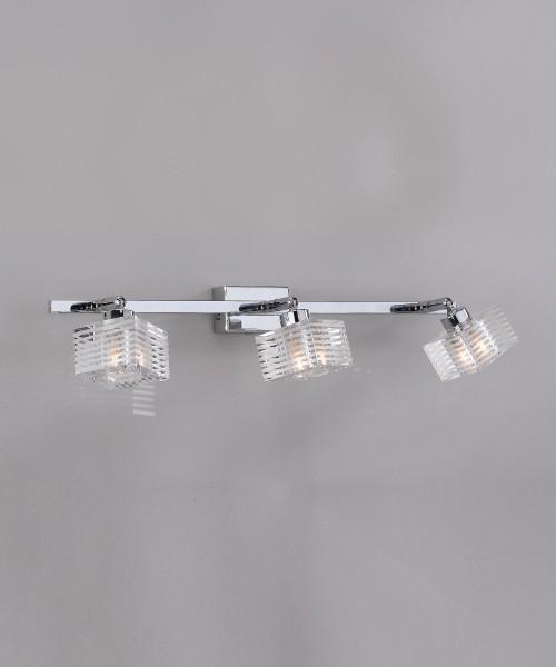 Toplight Metropolitan 1047/F3-G Lampada Parete