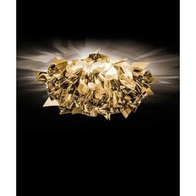 Slamp Veli Gold Mini Lampada Parete/Soffitto 1 Luce R.E