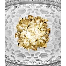 Slamp Veli Gold Large Lampada Parete/Soffitto 3 Luci R.E