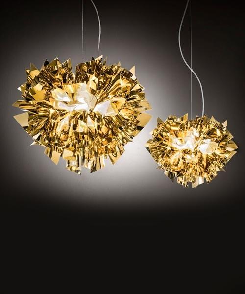 Slamp Veli Gold Large Lampadario 4 Luci R.E