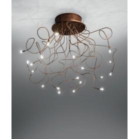 ANTEALUCE Sagitta Anticata 5572.30 Lampada Soffitto 30 Luci