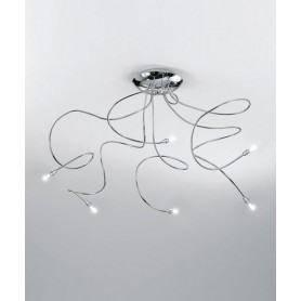 ANTEALUCE Sagitta 5572.15 20w Lampada Soffitto 15 Luci