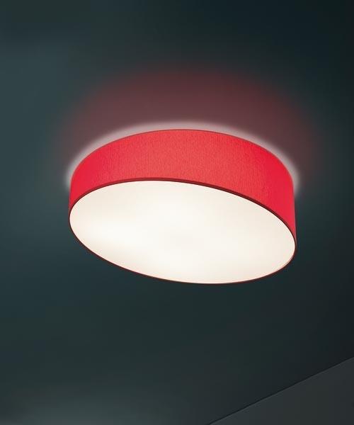 Morosini Pank PL90 LED Lampada Soffitto Tessuto Diffondente Led