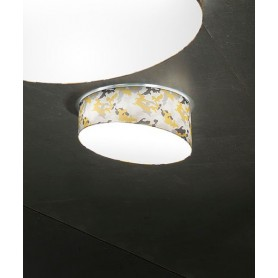 Morosini Pank PL60E Camouflage Lampada Soffitto 5 Colori