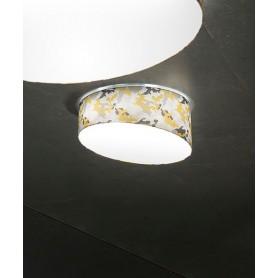 Morosini Pank PL60 E27 Camouflage Lampada Soffitto 5 Colori