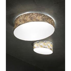 Morosini Pank PL90 E27 Camouflage Lampada Soffitto 5 Colori