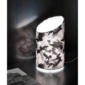 Morosini Pank TA23 Camouflage Lampada Tavolo 5 Colori