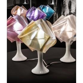 Slamp Gemmy Prisma Table Color Lampada Tavolo Oro