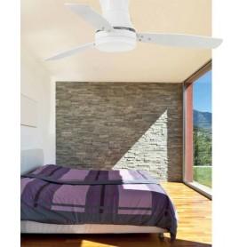 Faro Tonsay 33384 Ventilatore da Soffitto con Luce Bianco