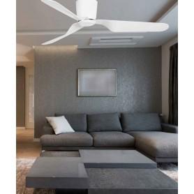 Faro Pemba 33471 Ventilatore da Soffitto senza Luce Bianco