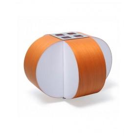 LZF Carambola M Small Lampada Tavolo Arancio R.E