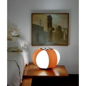 LZF Carambola M Small Lampada Tavolo Ciliegio R.E