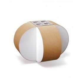 LZF Carambola M Small Dimmer Lampada Tavolo Faggio R.E