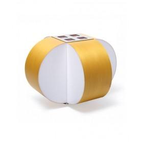 LZF Carambola M Small Dimmer Lampada Tavolo Giallo R.E