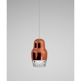 Axo Light Fedora SP1 Lampadario 1 Luce 2 Colori LED