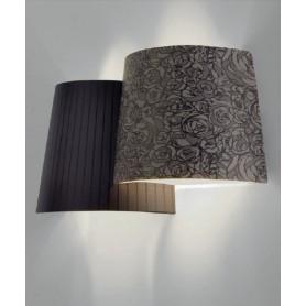 Axo Light Melting Pot AP Lampada Parete Fantasia Scura R.E
