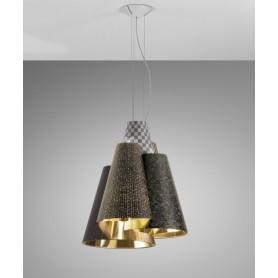 Axo Light Melting Pot SP60 Lampadario Fantasia Scura R.E
