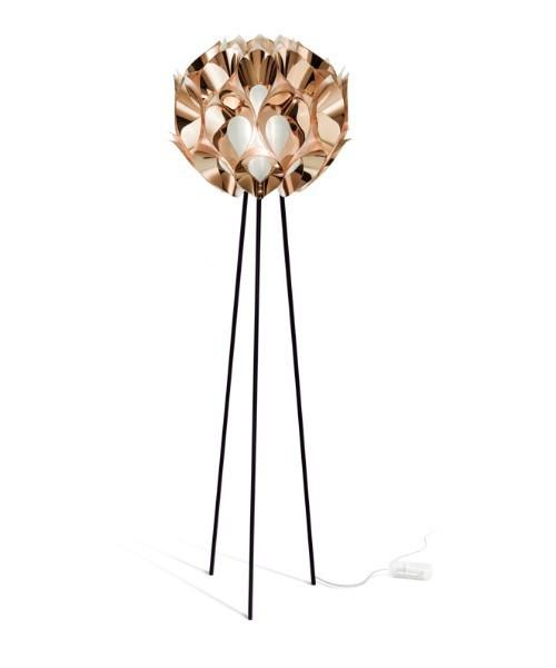 Slamp Flora Floor Lampada Terra 3 Luci Copper R.E