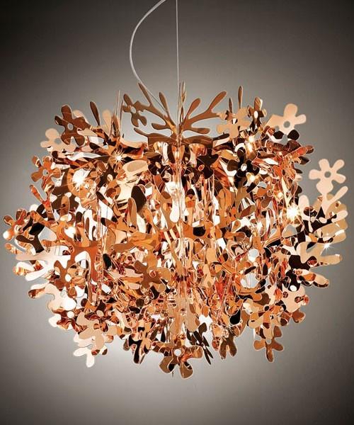 Slamp Fiorella Mini Lampada Sospensione Copper