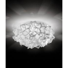 Slamp Clizia Mini Lampada Soffitto/Parete 1 Luce R.E Bianco