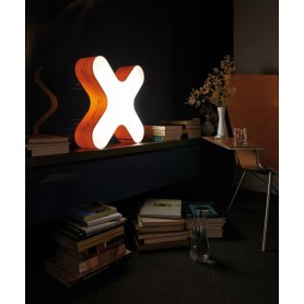 LZF X-Club Medium Table Lampada Tavolo Ciliegio R.E
