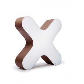 LZF X-Club Medium Table Lampada Tavolo Cioccolato R.E