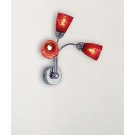Toplight Feeling Net 1011/A3 Lampada Parete 4 Colori