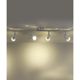 Platinlux Flash PL1040-4N Faretti Soffitto 4 Luci Led