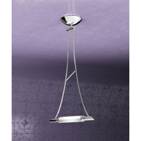 TOPLIGHT Triangle 1012/S1-CR Lampada Soffitto 1 Luce Cromo