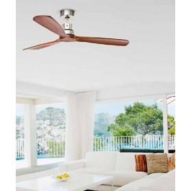 Perenz 7142 CR Ventilatore da Soffitto senza Luce Cromo