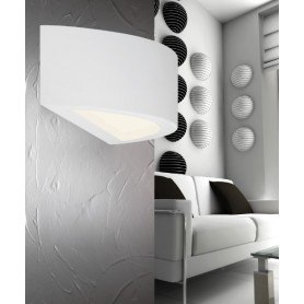 PAN Boreale PAR310 Lampada in Gesso Parete R.E