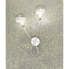 Toplight Super Ball 1109/A2 Lampada Parete 2 Luci