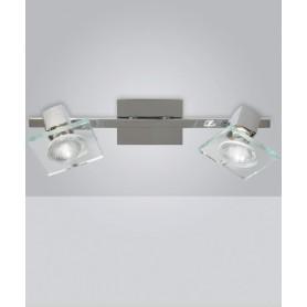 Toplight Square 1031/F2 Faretto Parete/Soffitto 2 Luci